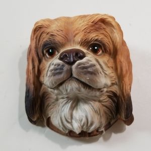 Other - Dog Head Wall Plaque Vintage Bust Kitschy Puppy